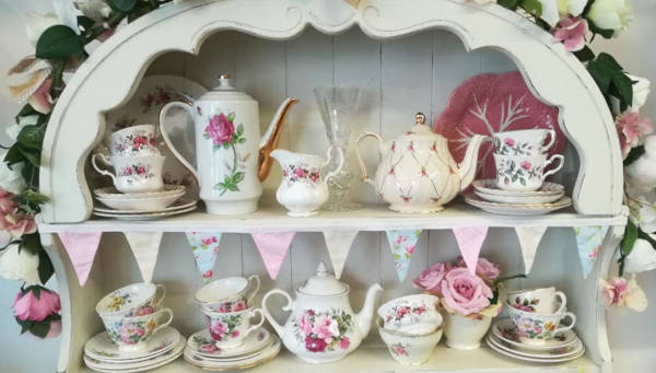 Vintage china hire Portsmouth